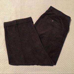 Stacy Adams Corduroy Pleated Dress Pants